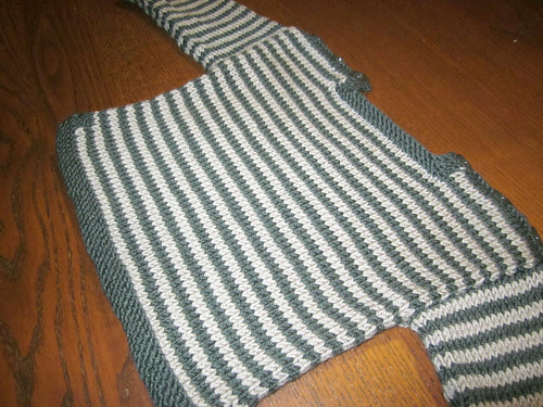 Striped Jumper for baby Theo