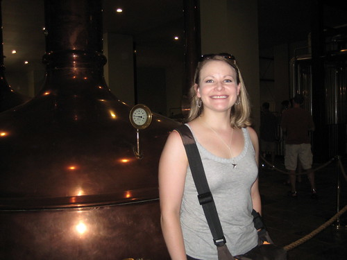 me at New Glarus brewery