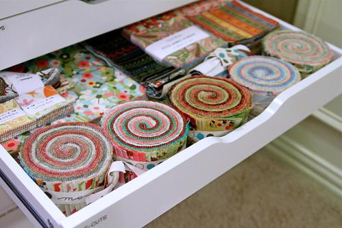 Fabric Organization: July 2011