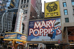 Mary Poppins on Broadway at the New Amsterdam ...