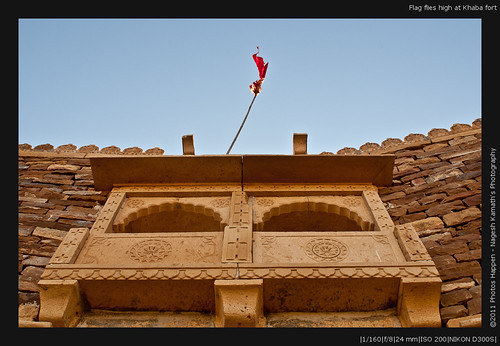 Flag flies high at Khaba fort