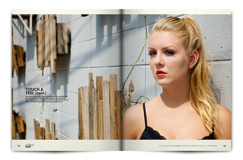 Urban Noir Magazine, Issue 1 - Pgs 15 & 16