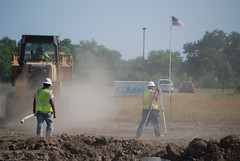 Temporary housing construction begins in Jopli...