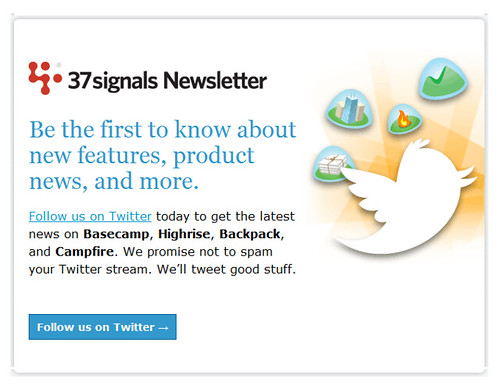 37 signals newsletter: follow us on twitter
