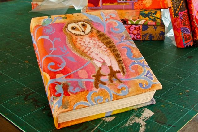 danielle's owl journal