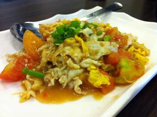 Tomato Egg Dish at Kanzhu