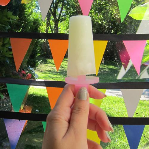 Mint Lemonade Popsicles