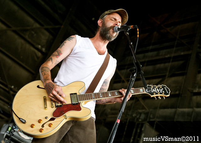 Lucero @ Warped Tour 2011