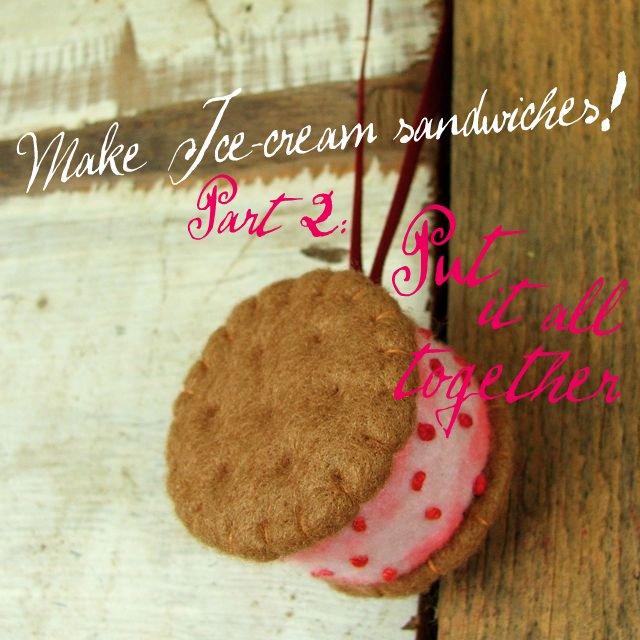 miniature Ice Cream sandwiches