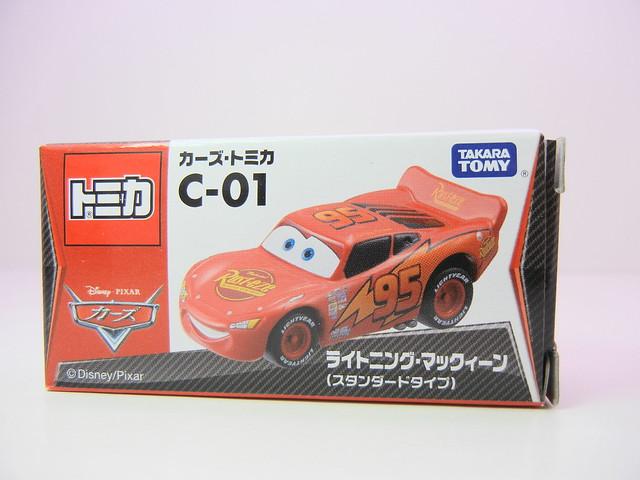 disney cars tomica c-01 lightning mcqueen (1)