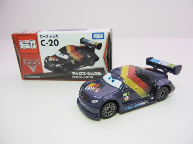 disney cars 2 tomica c-20 max schnell (2)