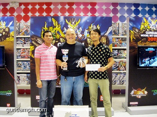 open category 1st price Toy Kingdom Gundam Modelling Contest Awarding Ceremony July 2011