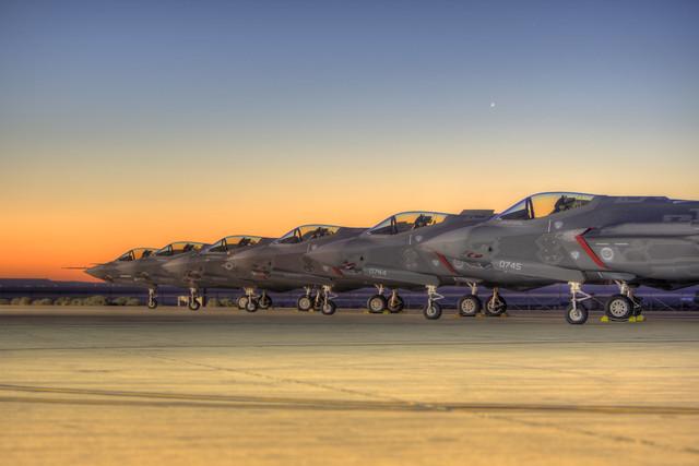 Edwards AFB F-35A Test Aircraft