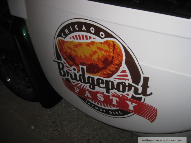 Truck Sign for Bridgeport Pasty