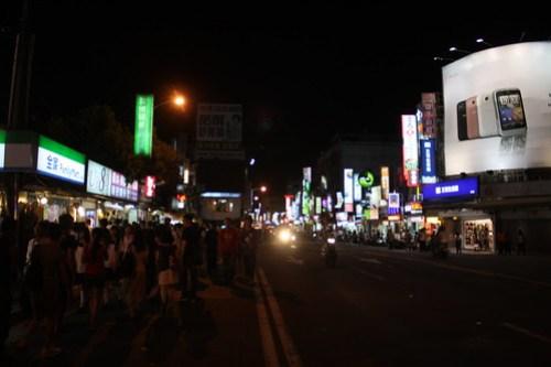 [台湾2.5] 夜市へ行く。同級生は家族旅行