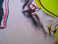 Tristan Garcia, La parte migliore degli uomini; Guanda 2011. Grafica di Guido Scarabottolo; alla cop.: Querelle, di Andy Warhol ©2011 The Andy Warhol Found. for the Visual Arts. Copertina. (part.), 2