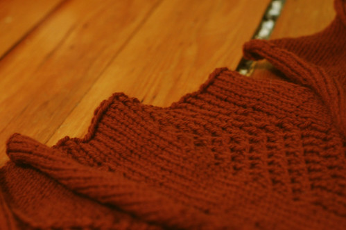 ws of gingerbread sweater