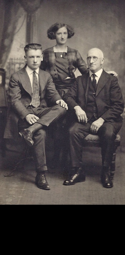 George William, Edwidge and Alfred
