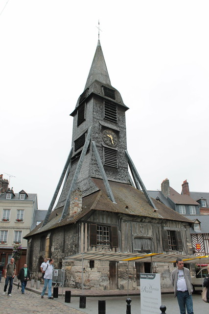 Clocher de l'église Sainte Catherine