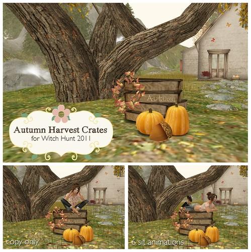Autumn Harvest Crates