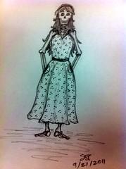Sarah Bone (1st concept)