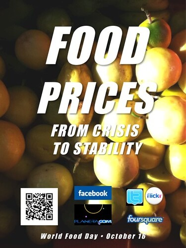 Food Prices: From Crisis to Stability (World Food Day 2011)