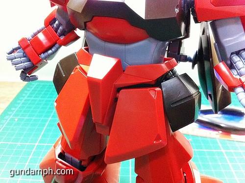 MG Rick Dias Quattro Custom RED Review OOB Build (41)