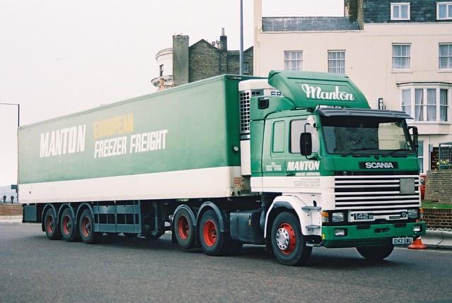 Manton European Freezer Freight - Scania 142