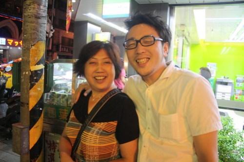 [台湾2.5] 何度も出会うポンヒキのおばちゃんとも仲良くなった。