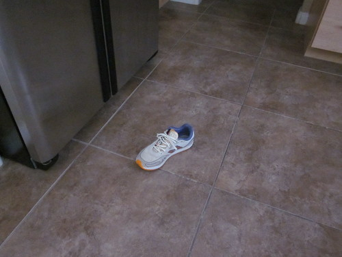 Where I Left My Shoe