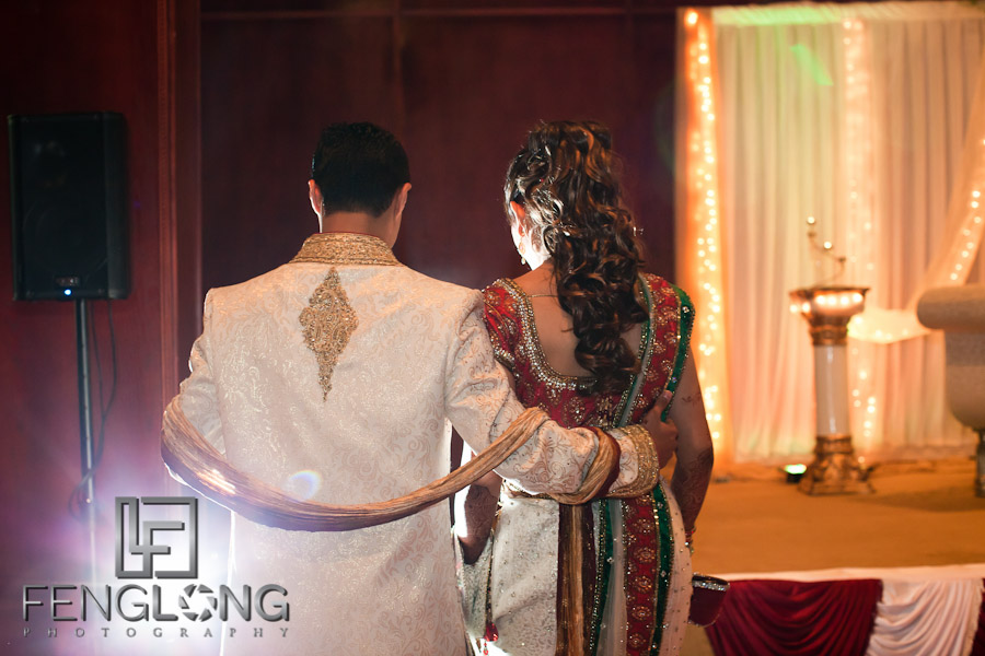 Bride & Groom Entering Hall | Shamz & Sana's Wedding Day 3 | Zyka Indian Banquet Hall Decatur | Atlanta Indian Photographer