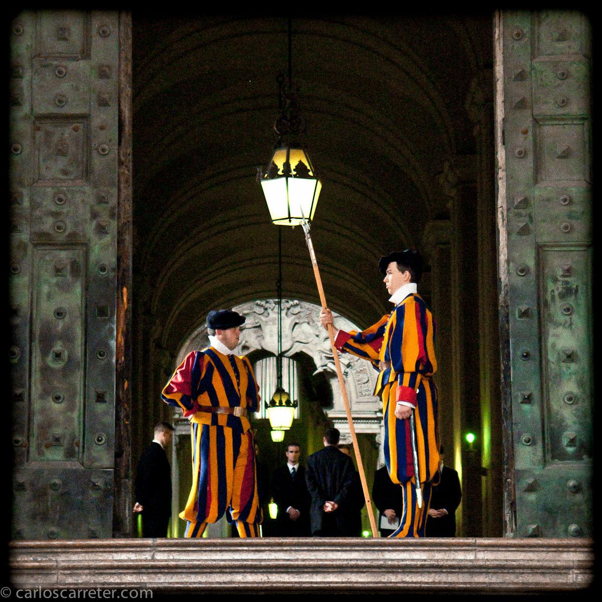 Guardia suiza - San Pietro in Vaticano