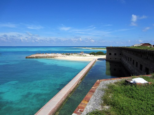 fort jefferson, and the beach we had to ourselves