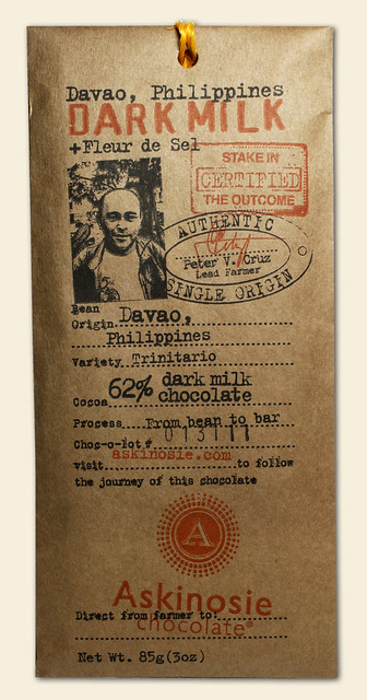 davao chocolate bar
