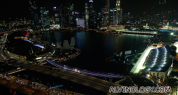 Singapore skyline changes rapidly - it looks different every time I ride the Singapore Flyer