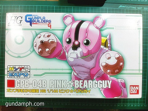 144 HG GB Pink Bearguy Gundam Expo Limited Edition (2)