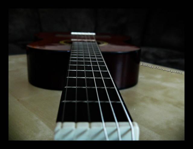 #271/365 Guitar: New Strings...