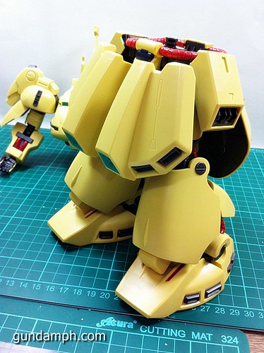 MG The-O PMX-003 Review OOB Build (47)