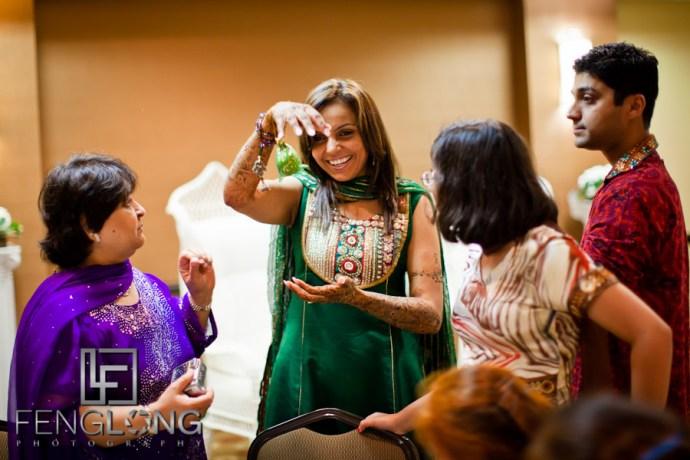 Beautiful Indian Bride   Shamz & Sana's Wedding Day 1   Hyatt Place Atlanta Airport South   Atlanta Indian Photographer