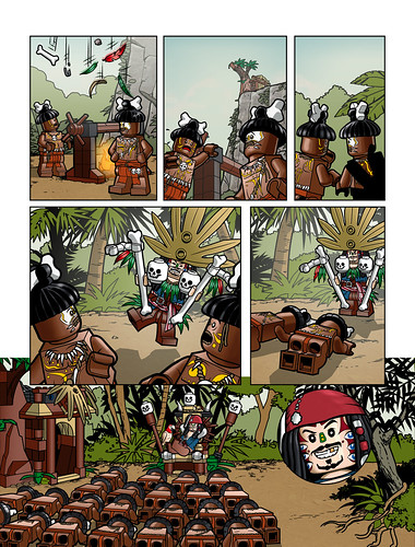 Pirates of the Caribbean Comic