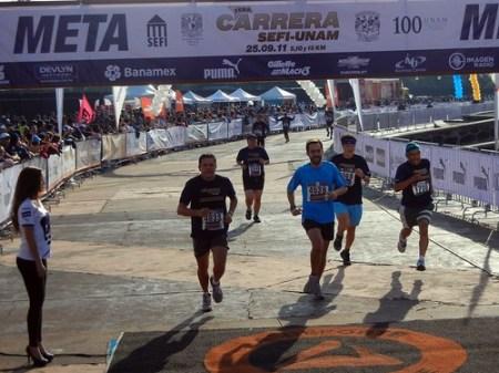 1ra Carrera SEFI-UNAM resultados