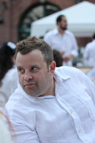 Matt @ Diner en Blanc