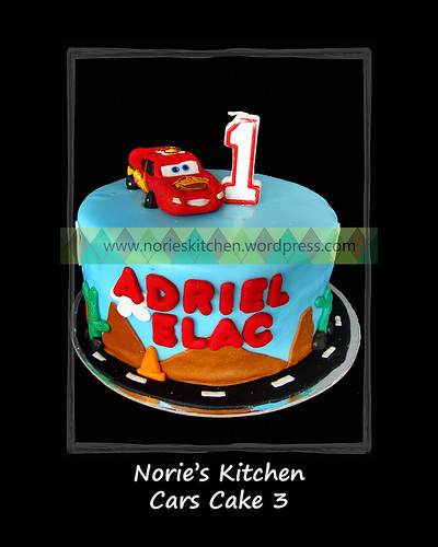 Norie's Kitchen - Cars Cake 3 by Norie's Kitchen