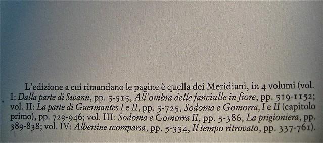 Breviario proustiano, a cura di Patrizia Valduga; Einaudi 2011. Progetto grafico: Bianco. p. 2 (part.), 1