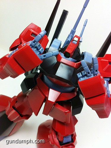 MG Rick Dias Quattro Custom RED Review OOB Build (63)