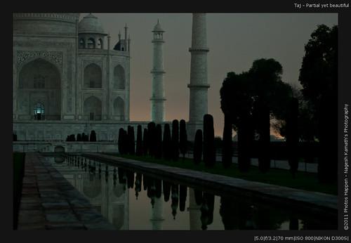 Taj - Partial yet beautiful