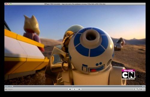 C-3PO vomits into R2-D2 - LEGO Star Wars: The Padawan Menace