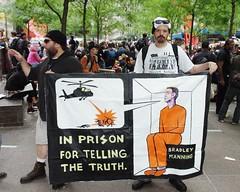 Bradley Manning Protest 2011 Shankbone