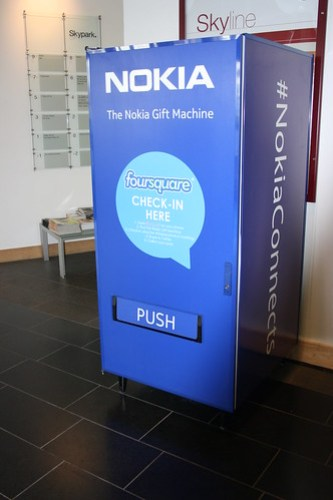 The Nokia Gift Machine @ SMW