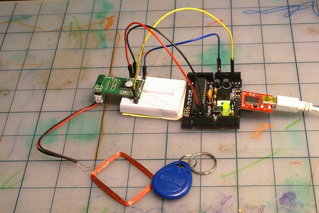RFID Test Photo